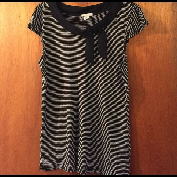 H&M Tops - 3/$15 Nautical navy striped shirt