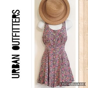 Urban Outfitters Kimchi Blue Lavender Print Romper
