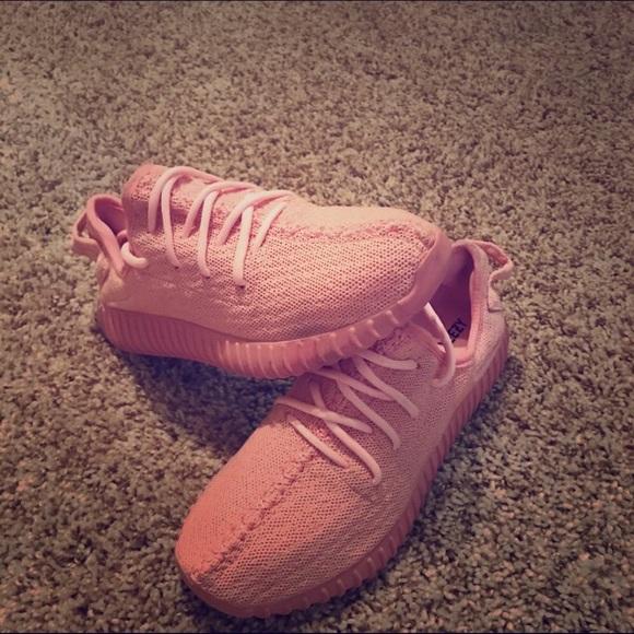 Le adidas yeezy impulso 350 concetto rosa poshmark dimensioni 6 12