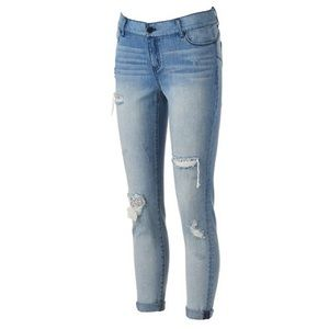 Juicy Couture Denim - Juicy Couture distressed sequin skinny jeans 4