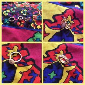 3 ring bundle, various sizes NWOT