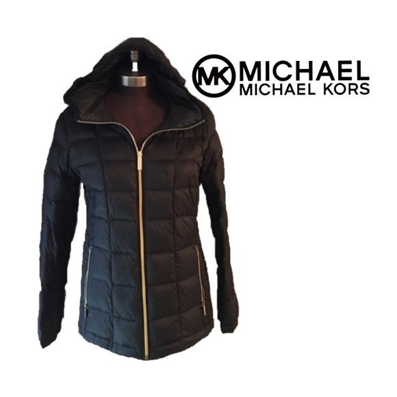 72 off michael michael kors jackets blazers black michael kors down winter coat from. Black Bedroom Furniture Sets. Home Design Ideas