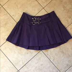 Lip Service  Dresses & Skirts - Lip Service Pin Striped Pleated Mini Skirt