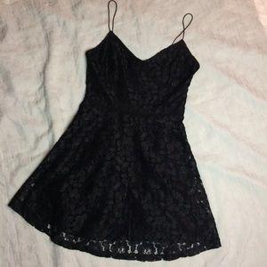 Paper Crane Dresses & Skirts - 🌷Paper Crane • Little Black Strappy Lacey Dress