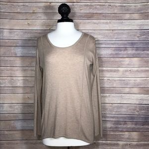C&C California Tops - {C&C California} Tan Sweater Pullover Top