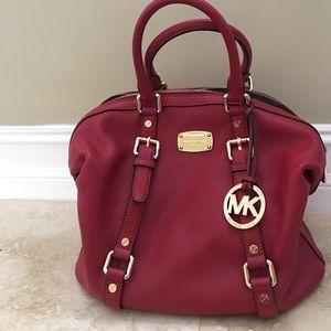 Michael Kors Handbags - Authentic Michael KORS Bowling Satchel