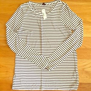 NWT J Crew Lightweight Striped
