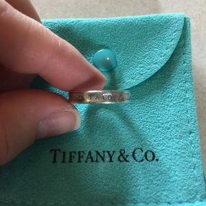 Tiffany & Co. Jewelry - Tiffany & Co 1837 narrow ring