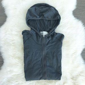 Nike Jackets & Blazers - Nike Seamless Raglan Lon Sleeve Hooded Zip Front