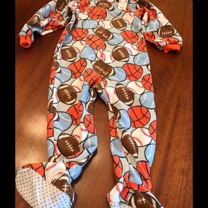 Children's Place Other - Children's Place Sports Footie Pajamas