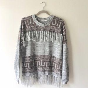 Blu Pepper | Fringe Sweater