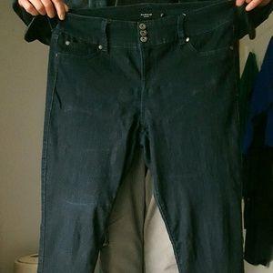 Torrid Jegging - Dark Rinse - 16 Tall (Plus Size)
