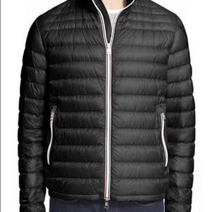 Moncler Other - Daniel channel quilted down dark blue jacket
