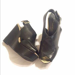 Nicole Miller Wedge Sandal