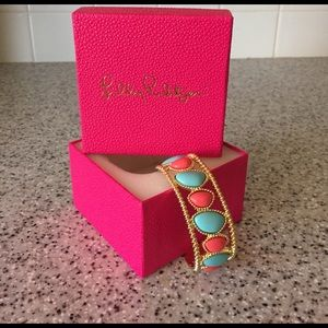 Lilly Pulitzer Jewelry - Lilly Pulitzer Gold Cuff Bracelet