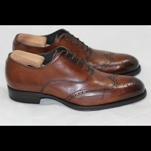 To Boot Other - To Boot New York Dodd Burnished Wingtip Oxford 9.5