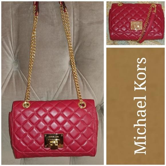 34dad16e919c Michael Kors Bags | Nwt Vivianne Shoulder Flap Bag | Poshmark