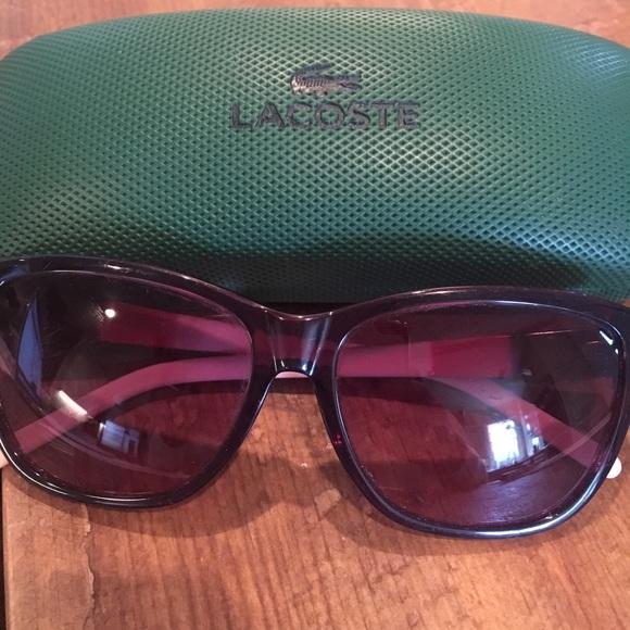 c87cece777c6 Lacoste Accessories - Lacoste Sunglasses Tortoise   Pink