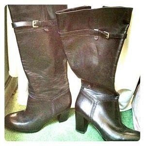 Naturalizer Shoes - Wide calf Naturalizer knee high dress boots 👢