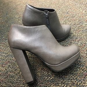 Michael Antonio Shoes - ❤ | block heel booties |