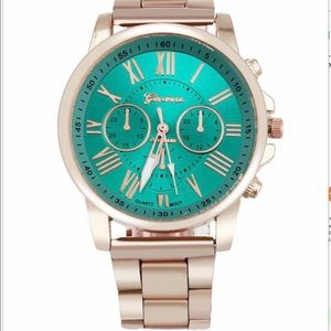 Green Chronograph Unisex Watch-575