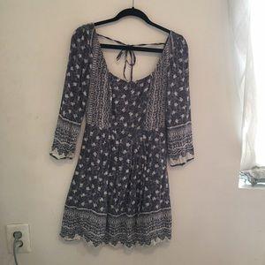 Free People Lavender Adriana Dress