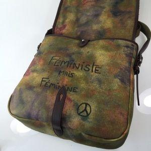 e4f5b3ab51b CHANEL Bags   Sold Graffiti Pavement Messenger Bag   Poshmark