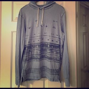 American Eagle Outfitters Tribal Print Hoodie M
