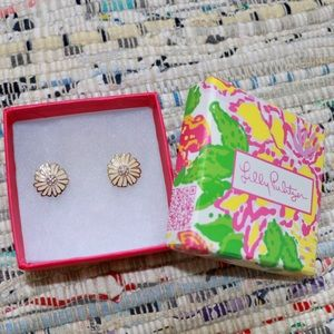 Flower Lilly Pulitzer Earrings