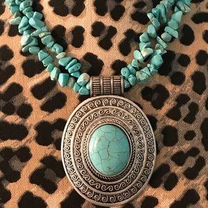 Jewelry - Amazing Turquoise Statement Piece🐳🐳🐳