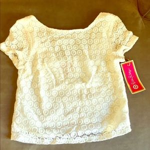 Lilly Pulitzer for Target Tops - Lilly Pulitzer for Target Eyelet Crop Top | NWT| S