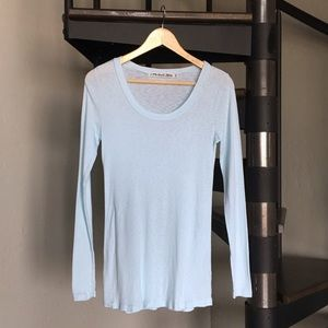 Michael Stars The Original Tee Maternity icy blue
