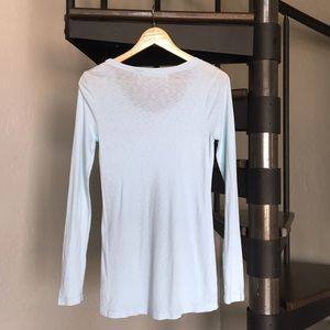 Michael Stars Tops - Michael Stars The Original Tee Maternity icy blue