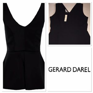 Gerard Darel Tops - NWT Gerard Darel black top with peplum bottom