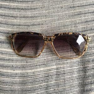 9530e528c71 Cazal Sunglasses    Gold with Faded Lenses