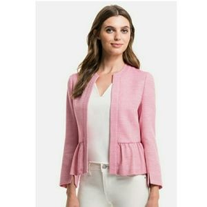 1. STATE  Jackets & Blazers - 1. STATE PINK TWEED JACKET