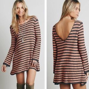 Free People Counting Stripes Swing Tunic