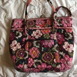 Vera Bradley Bags - Vera Bradley tote book bag Mod Floral Pink aafcfd7f4ca27