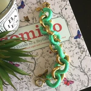 J. Crew Jewelry - J. Crew enameled Jenna bracelet