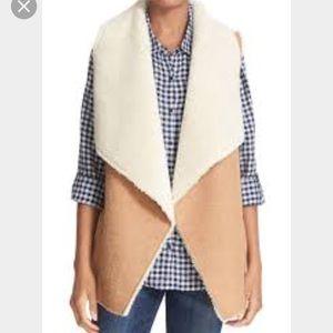 Light brown fur pullover