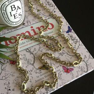 J. Crew Jewelry - J. Crew enamel chain necklace