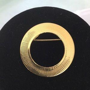 Vintage Gold Virgin Pin Era 1950s