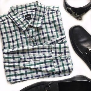 Hugo Boss Other - Hugo Boss Slim Fit Button Down Check Shirt