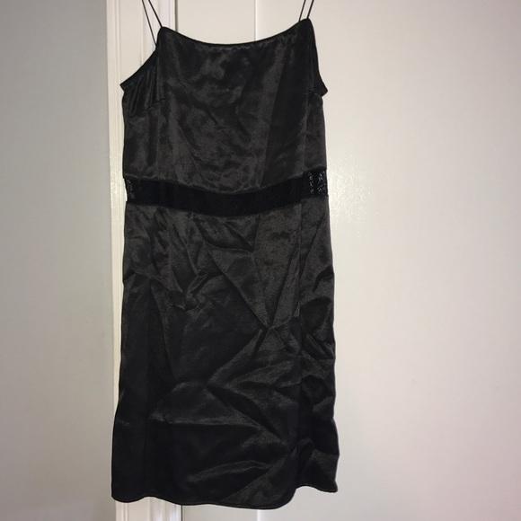 d6d58b35e42 Zara s  Trafaluc Collection  Satin Lace Mini Dress