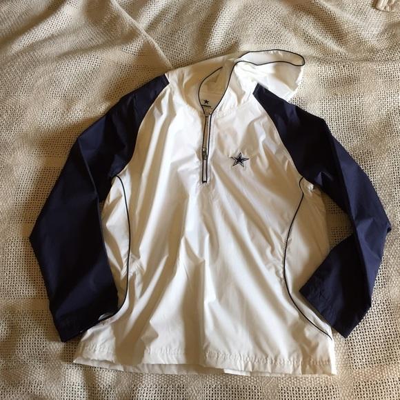 d6c5b3df8 Cowboys Authentic Apparel Jackets   Blazers - Dallas Cowboys Women s  Quarter Zip Jacket
