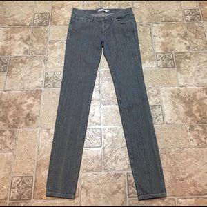Chloe Denim - See by Chloe pinstripe skinny jeans