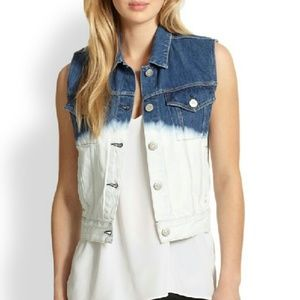 3x1 Jackets & Blazers - New 3x1 NYC Classic Tie-Dye Denim Vest