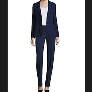 Akris Other - Akris Punto Black Pantsuit With Ruched Back