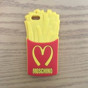 Moschino iPhone French Fries Case