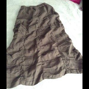 Allen Allen Dresses & Skirts - Linen Skirt